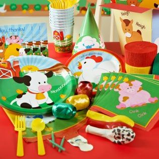 Farm Animal Or Barnyard Baby Shower