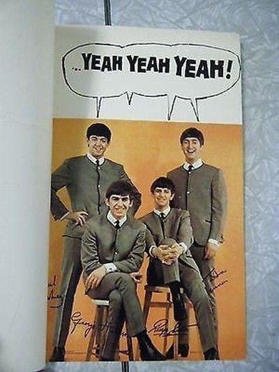 1960s American Greetings Beatles Birthday Card Vintage Birthday