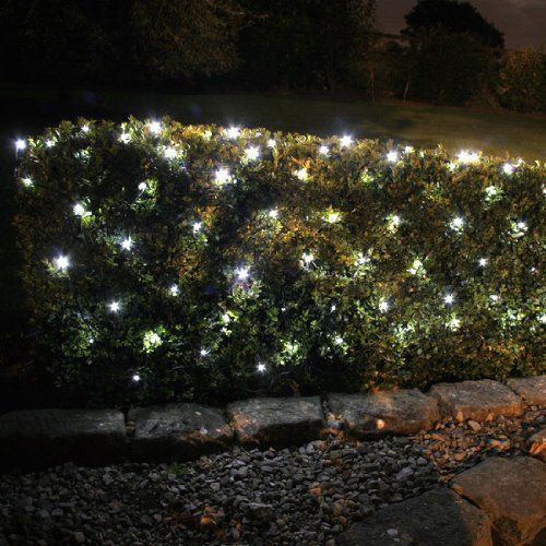 new styles 416b3 b197e Pin by Lamppedia on White Led Christmas Lights | Solar fairy ...