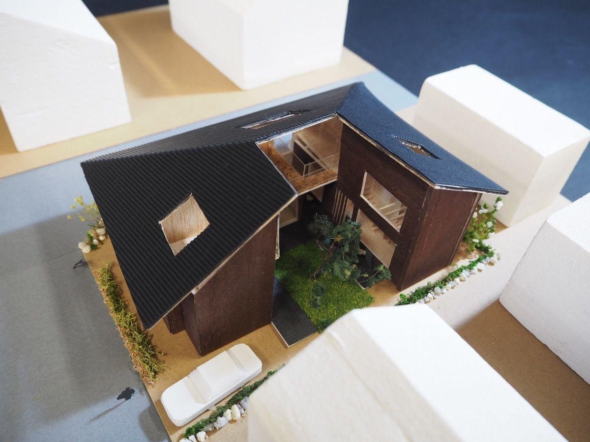 受賞作品 木の家設計グランプリ 住宅模型 建築模型 建築モデル