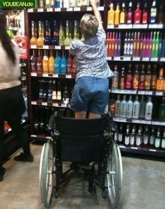 Alkohol kann Wunder bewirken :-)