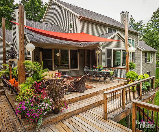 Shade Solutions for Outdoor Rooms | Pretty Patios, Porches