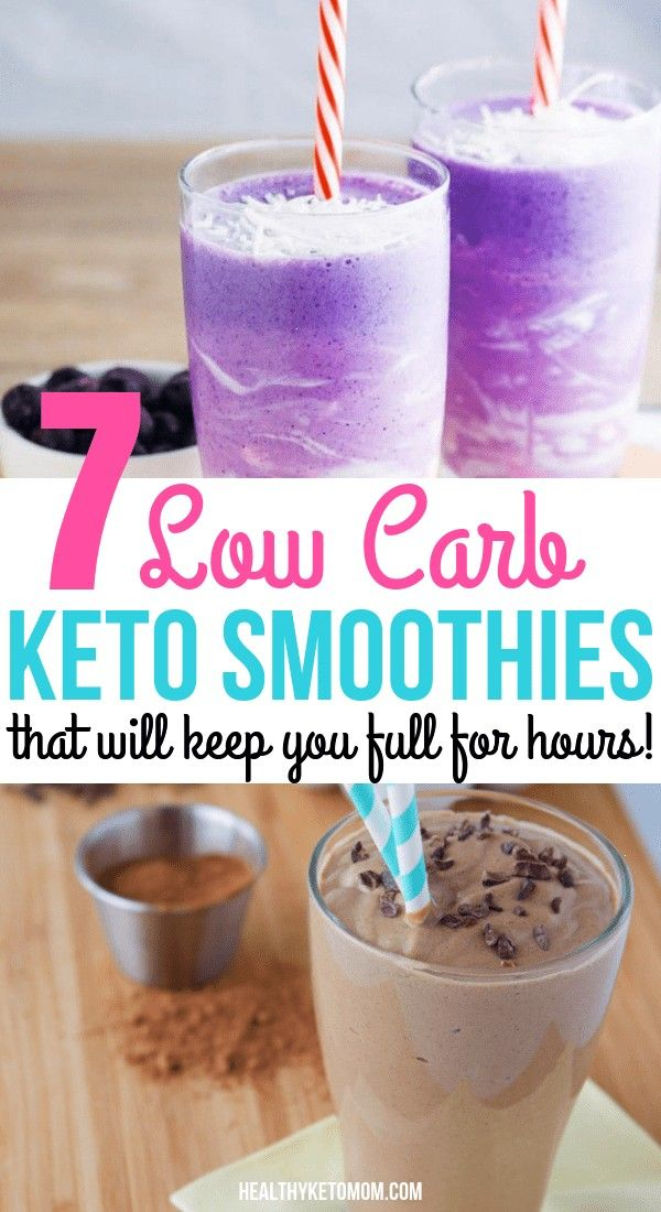 Keto Smoothies To Have For Breakfast To Make Losing Weight Easier On The Ketogenic Diet! Try these