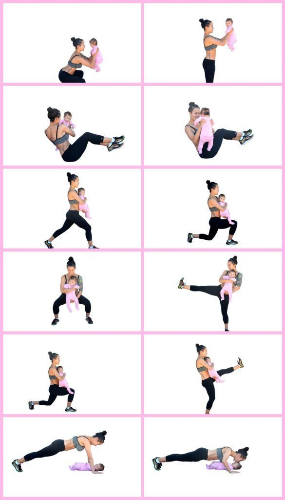9 Mama and Baby Yoga Poses to Try at Home #fitness #exercises