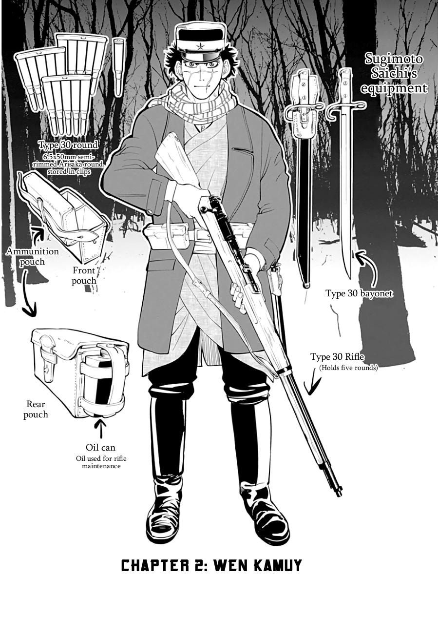 Read manga Golden Kamui Vol.001 Ch.002 Wen Kamuy online
