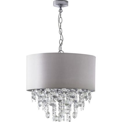 Schreiber Wedmore Shade With Crystal Droplets