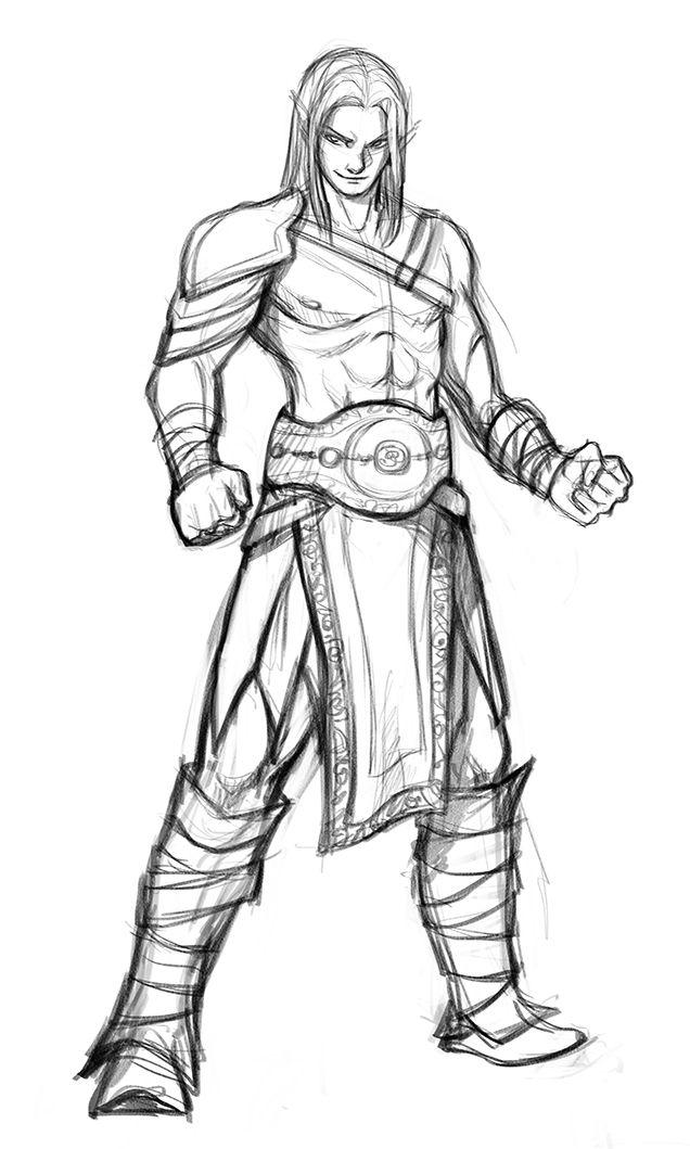 commission drow gladiator by iara deviantart on