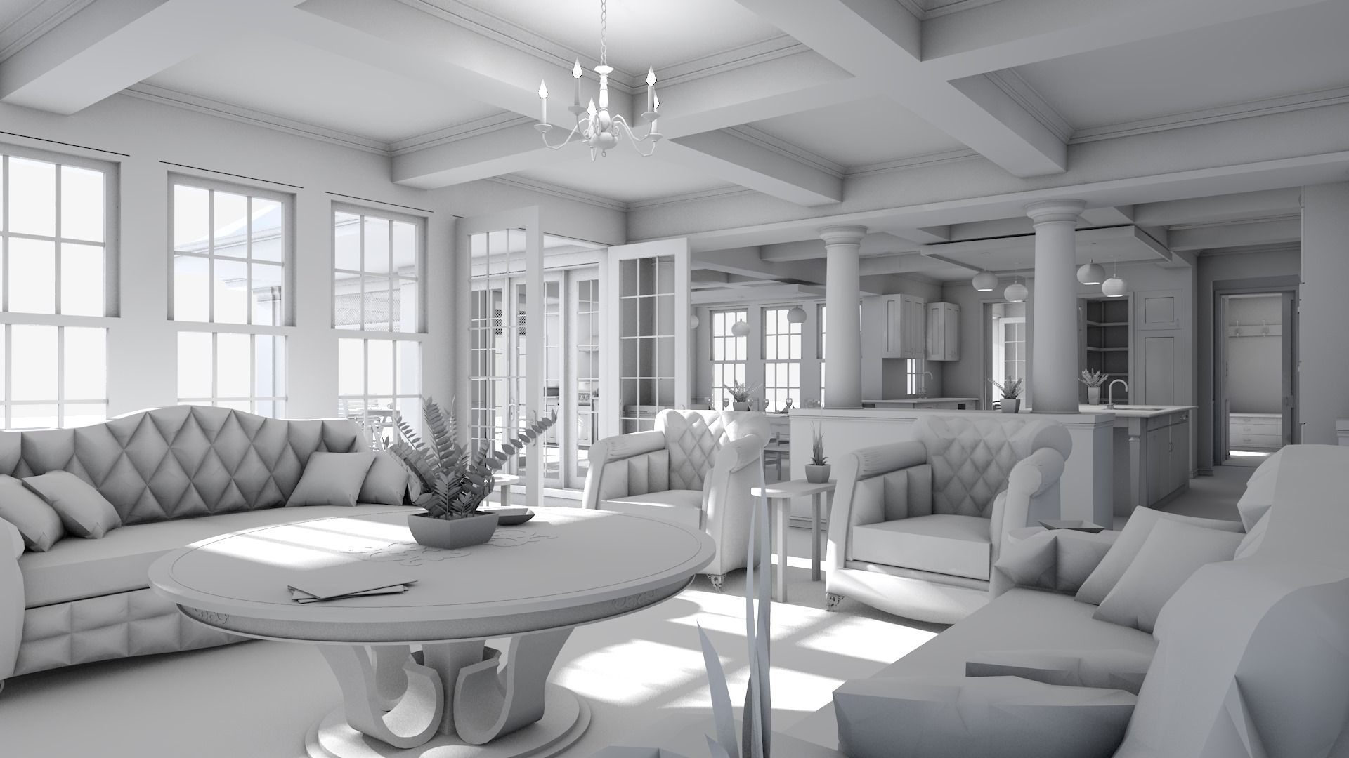 Also Demonstrates Our Sunlight Studies Where We Virtually Show The Lighting  In Your Home Throughout The Day.