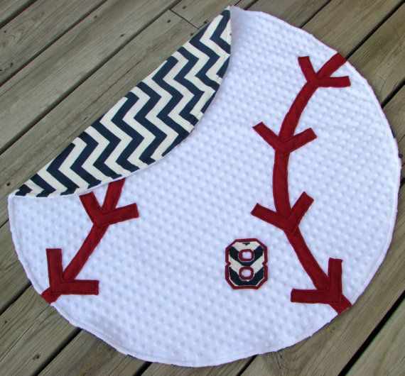 Check out this item in my Etsy shop https://www.etsy.com/listing/208015396/adult-size-baseball-minky-blanket-w  Adult size baseball blanket...pick your chevron color or team print for the back!  Baby sizes available too.  #baseballblanket #sportsdecor #LovePitterPatter