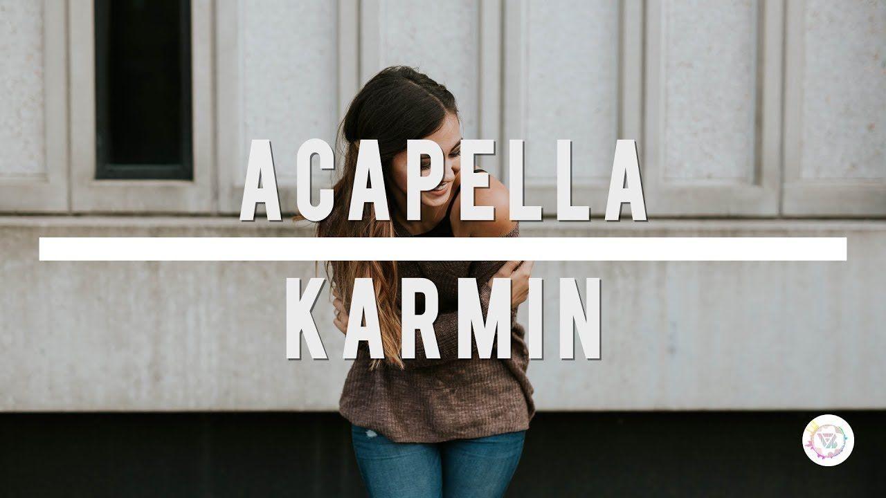 Acapella - Karmin (Lyrics)   Flighthouse Remix - YouTube   music