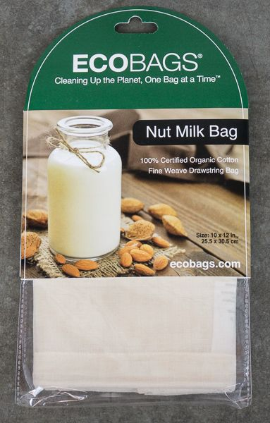 Organic Nut Milk Bag May Also Work For Cold Brew Coffee