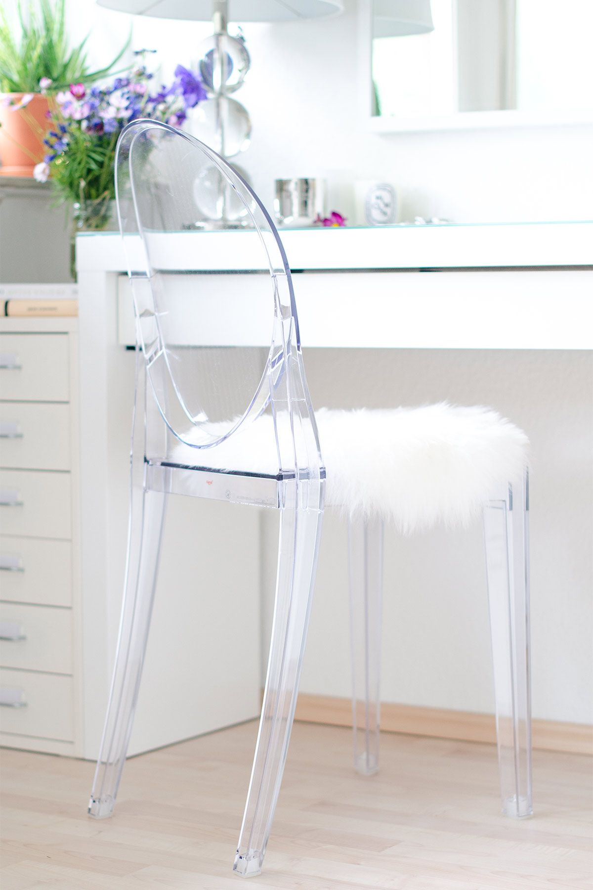 Make Up Vanity Ghost Chair Kartell Ghost Chairs Ghost Chair Victoria Ghost Chair