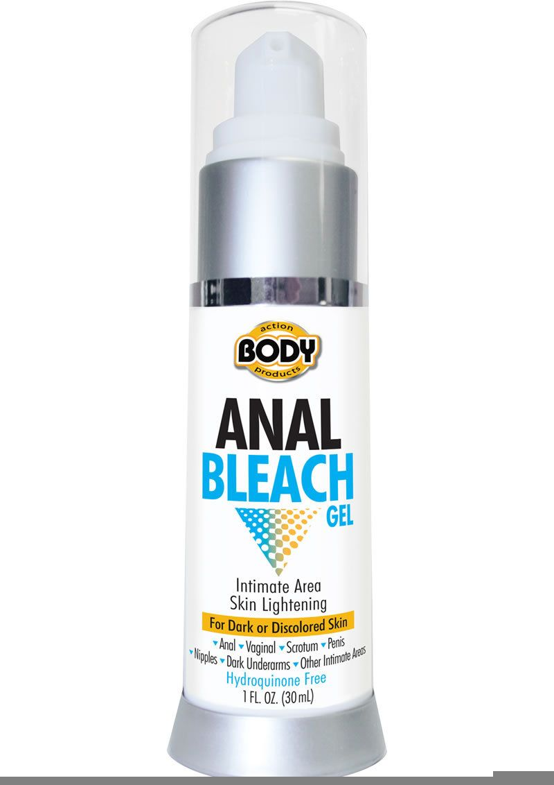 Anal skin bleaching