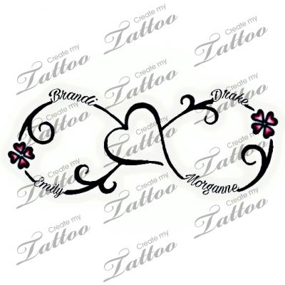 Tattoo With Kids Names 4 Kids Name 280572 Createmytattoo