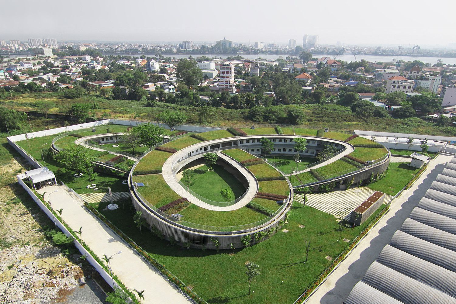 Farming Kindergarten / Vo Trong Nghia Architects. Green ArchitectureSchool  ... Design Inspirations
