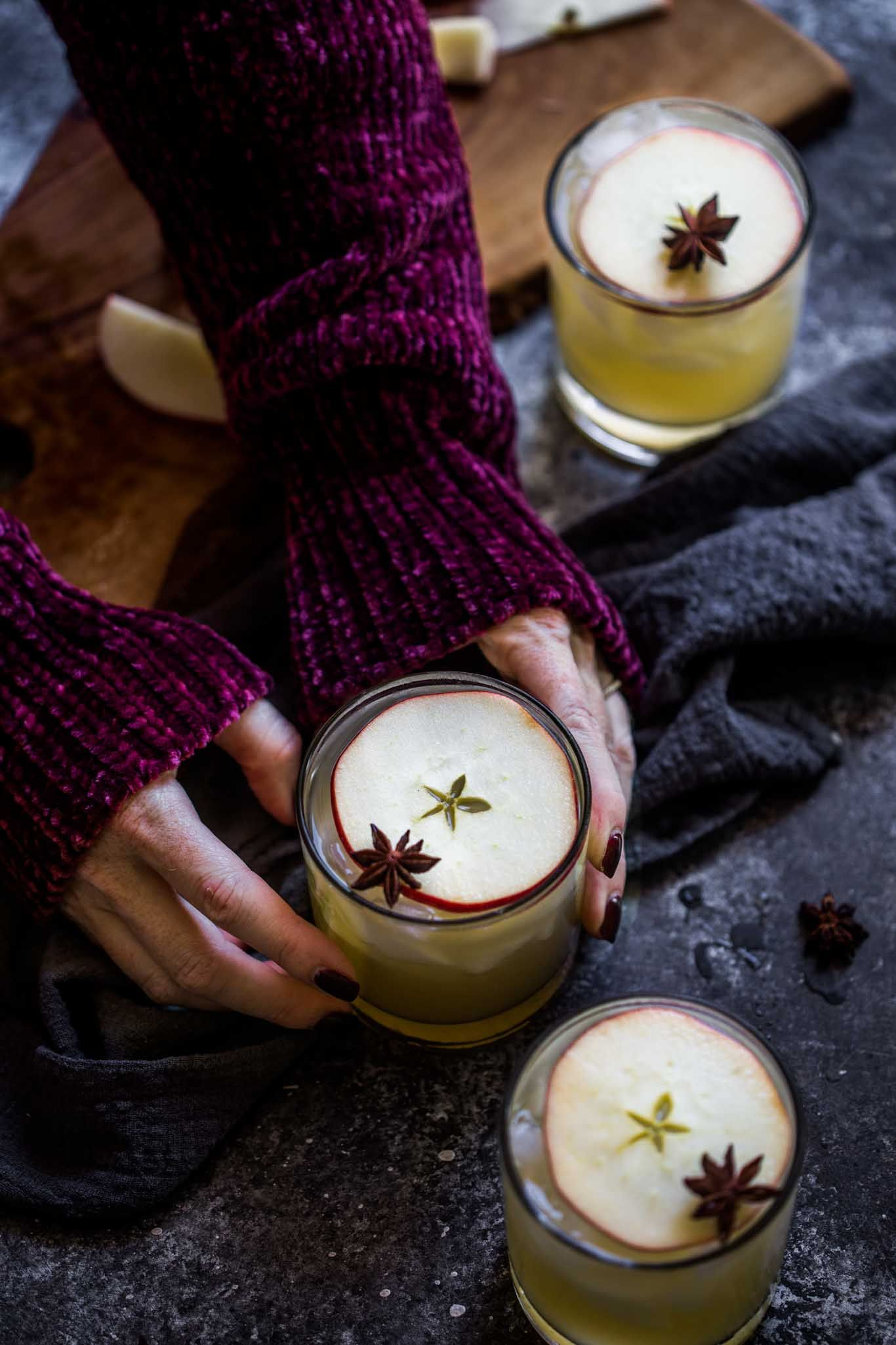 Apple Cider Cocktail Recipe Platings + Pairings Apple