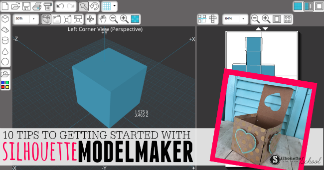 Silhouette Model Maker Tutorial: Getting Started with the 3D