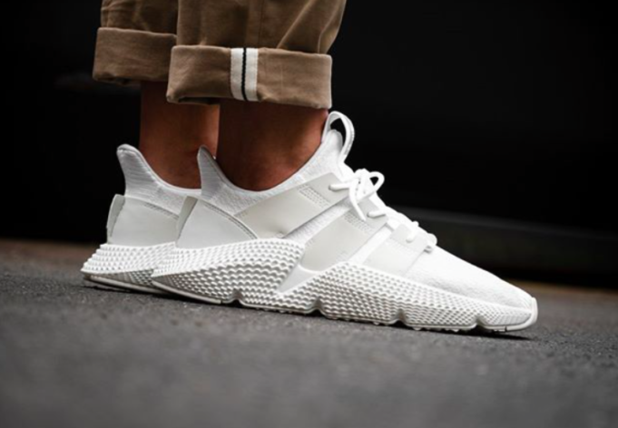 035ff48cdbe The Adidas Prophere Crystal White Is Here For Summer | shoes ...