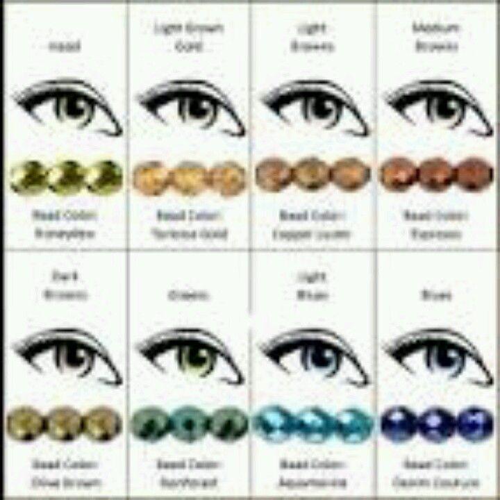 Eye Colors Cute Eye Makeup Eye Color Colorful Makeup