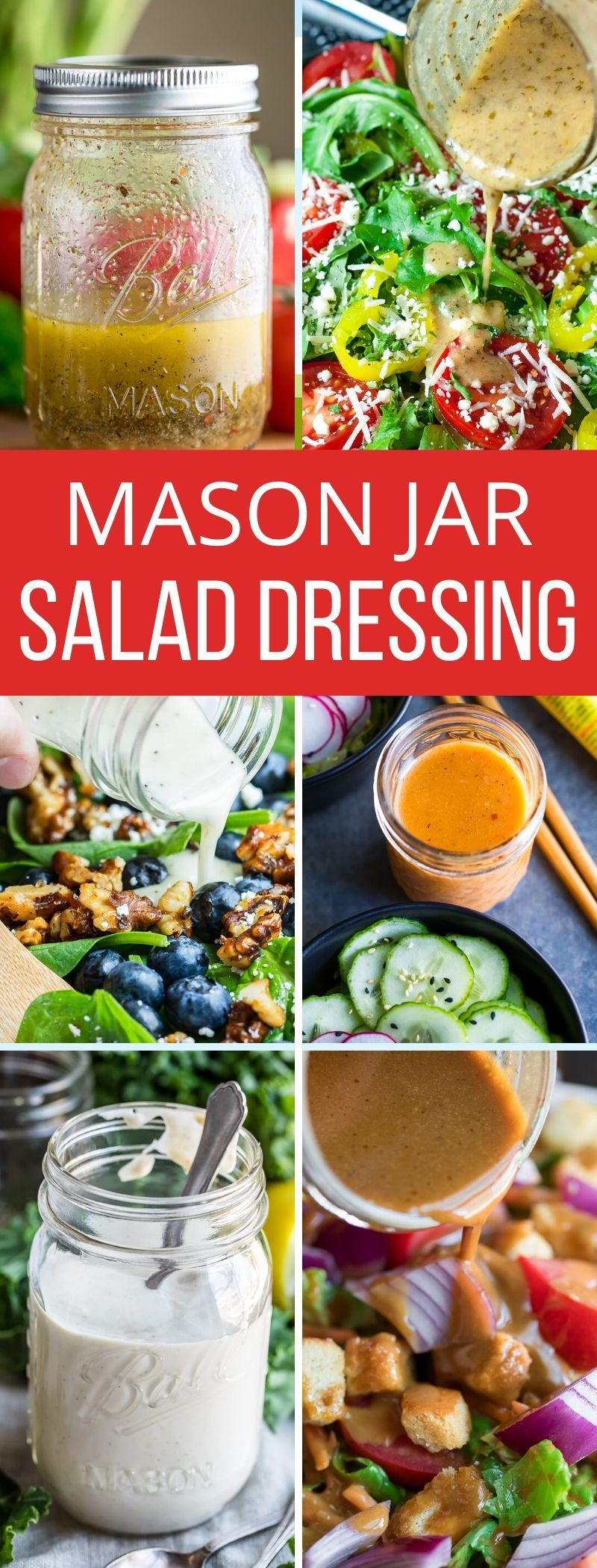 Mason Jar Salad Dressing Recipes Peas And Crayons In 2020 Mason Jar Salad Salad Dressing Recipes Salad In A Jar