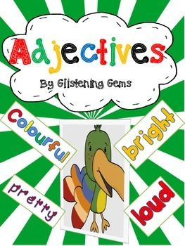 Adjectives Worksheets & Printables   Thinking skills, Student and ...