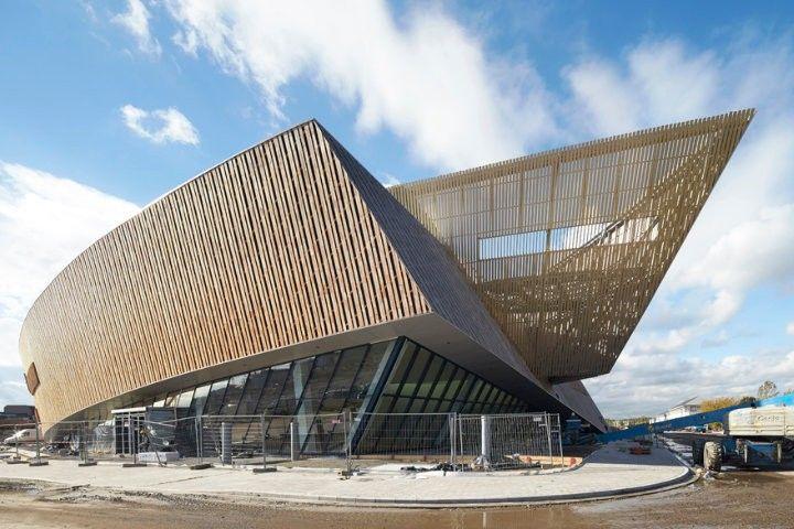 Merveilleux Centre De Congres A Mons New Architectural Landmark