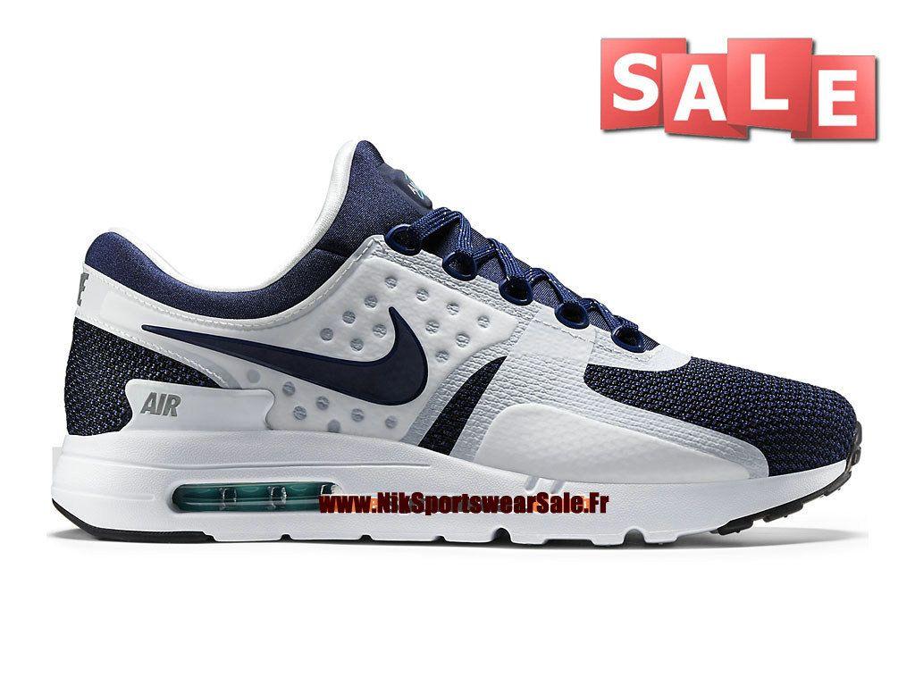 W Max Air Zéro - Chaussures De Sport Pour Les Hommes / Blanc Nike 305D61LaJ