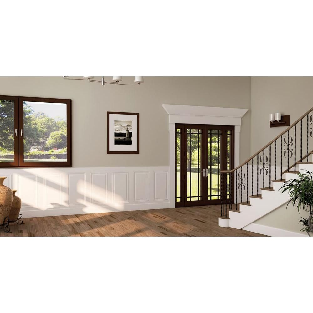 1 4 In X 32 In X 48 In Mdf Wainscot Panel Panmiragep The Home Depot Wainscoting Panels Wainscoting Wall Wainscoting Wall Paneling