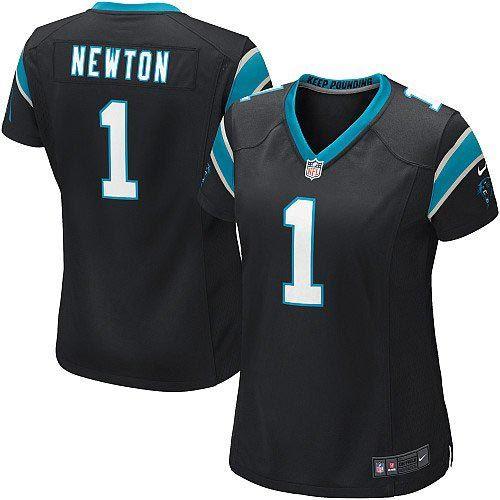 Nike Cam Newton Carolina Panthers Womens The Limited Jersey - Black