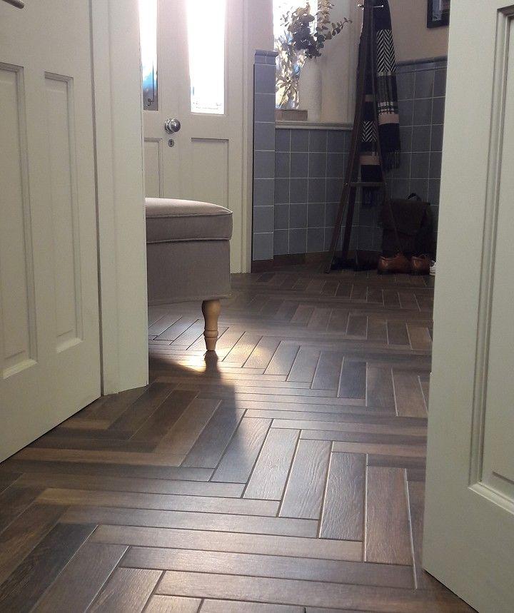 Andira Smokey Brown Tile With Images Brown Tiles Tiles Wood