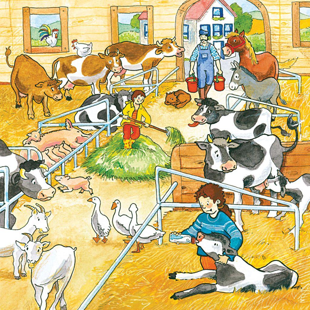 Op de boerderij 3, praatplaat