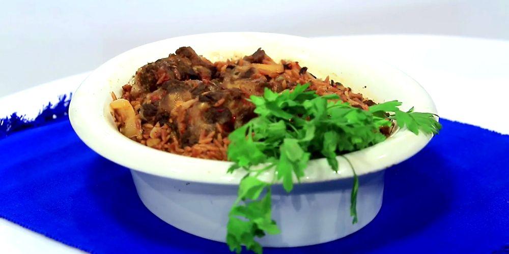 طاجن عكاوى بلسان العصفور Food Beef Meat