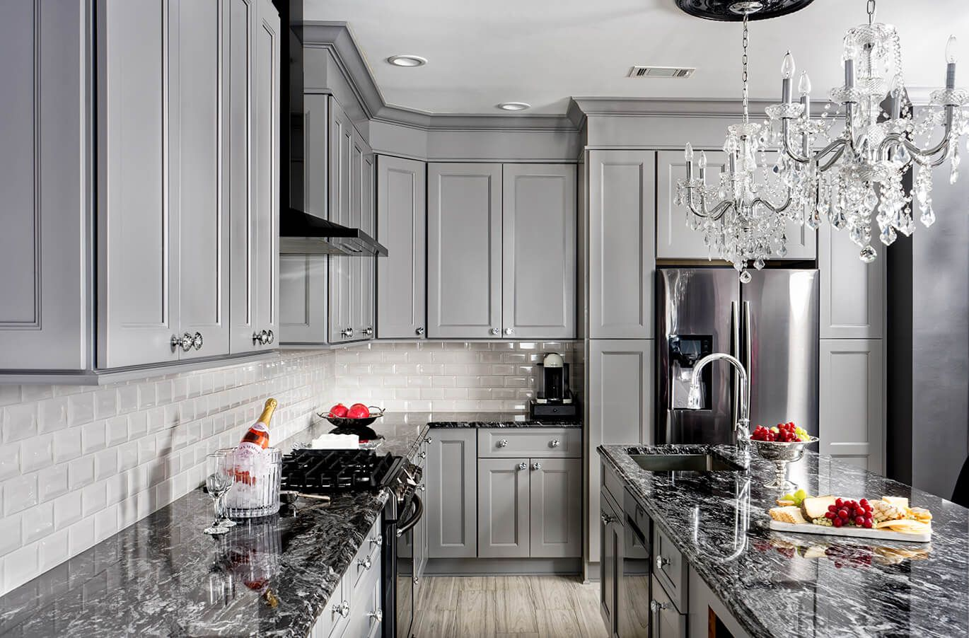 The Scientific Discipline Of Color Gray Grey Kitchen Cabinets Light Grey Kitchens Fabuwood Cabinets