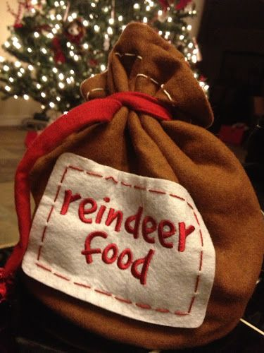 Get your kids busy and make some food for Santa's Reindeer!  xxT