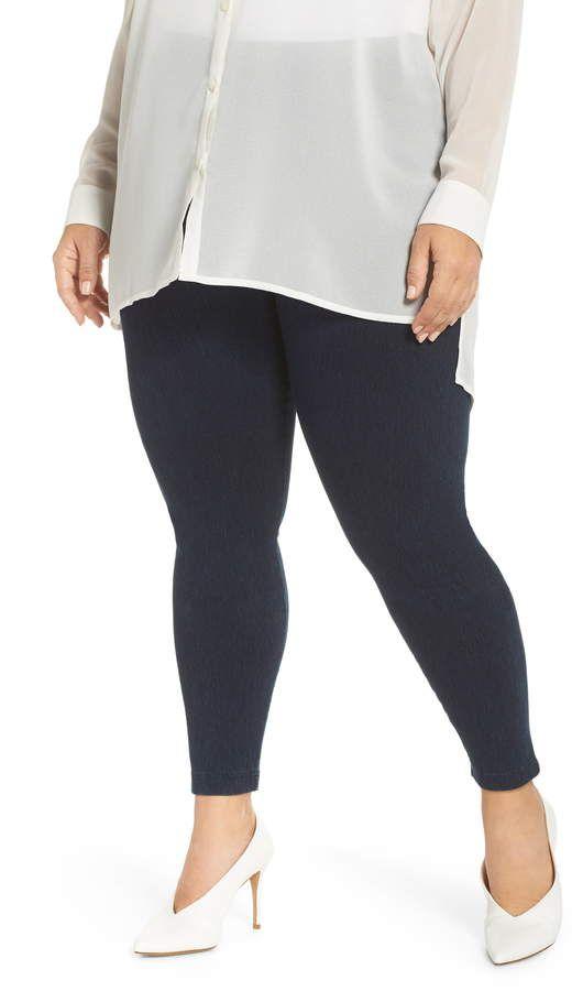 32f64f22b1388f Plus Size Women's Lyssé High Rise Stretch Denim Leggings, Size 3X ...