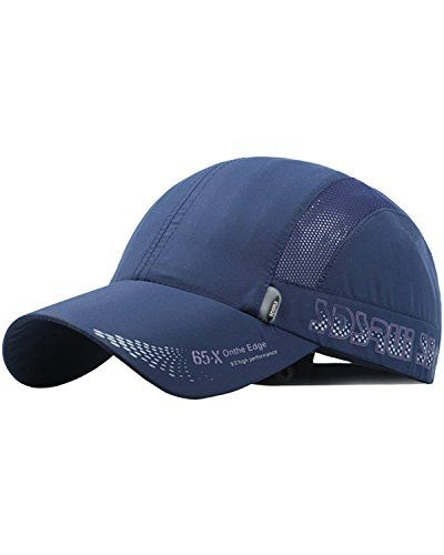 e66d79f2 Mens Women Quick-dry Thin Breathable Snapback Flat Baseball Caps Adjustable  Outdoor Visors Hats is designer, shop on NewChic to see other on-sale men  hats ...