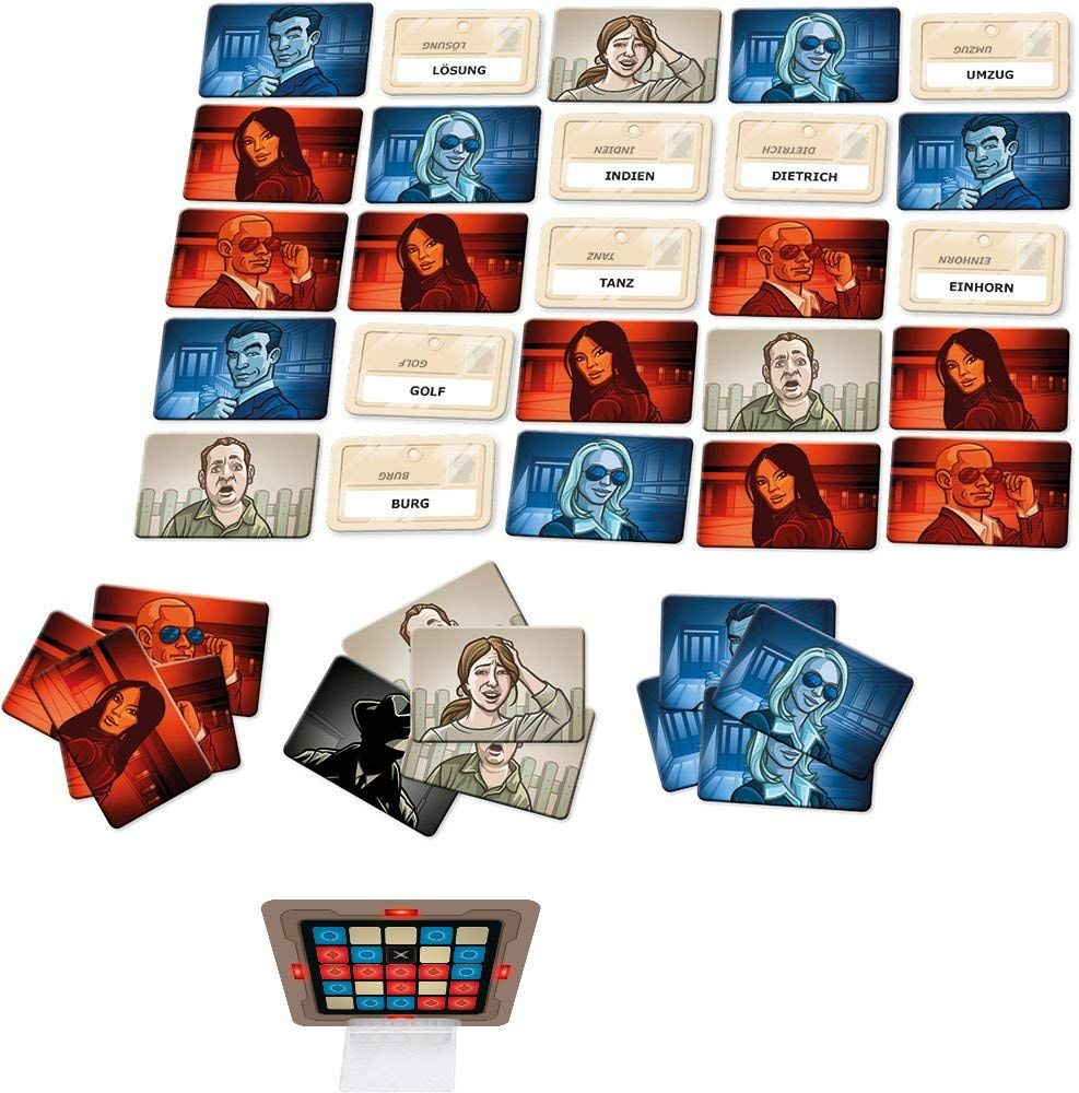 Codenames is a social word game with a simple premise and