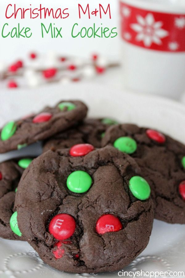 christmas mm cake mix cookies recipe cake mix cookies cake mixes and christmas cookies