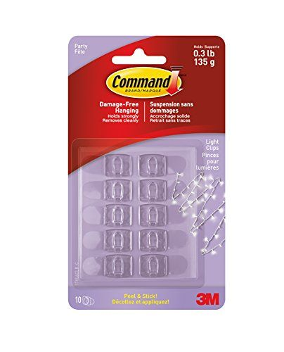 Command Party Light Clips 10Clips 17806CLRES *** For more
