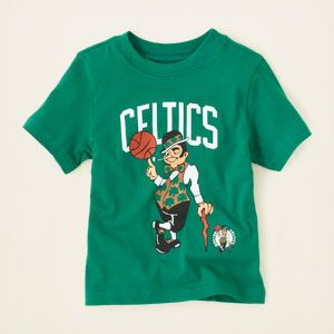 baby boy - graphic tees - Boston Celtics graphic tee | Children's Clothing | Kids Clothes | The Children's Place