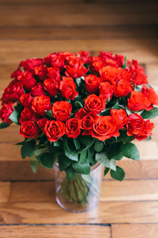 Bouquet de roses rouge velours par bouquet for Envoi de fleurs par correspondance