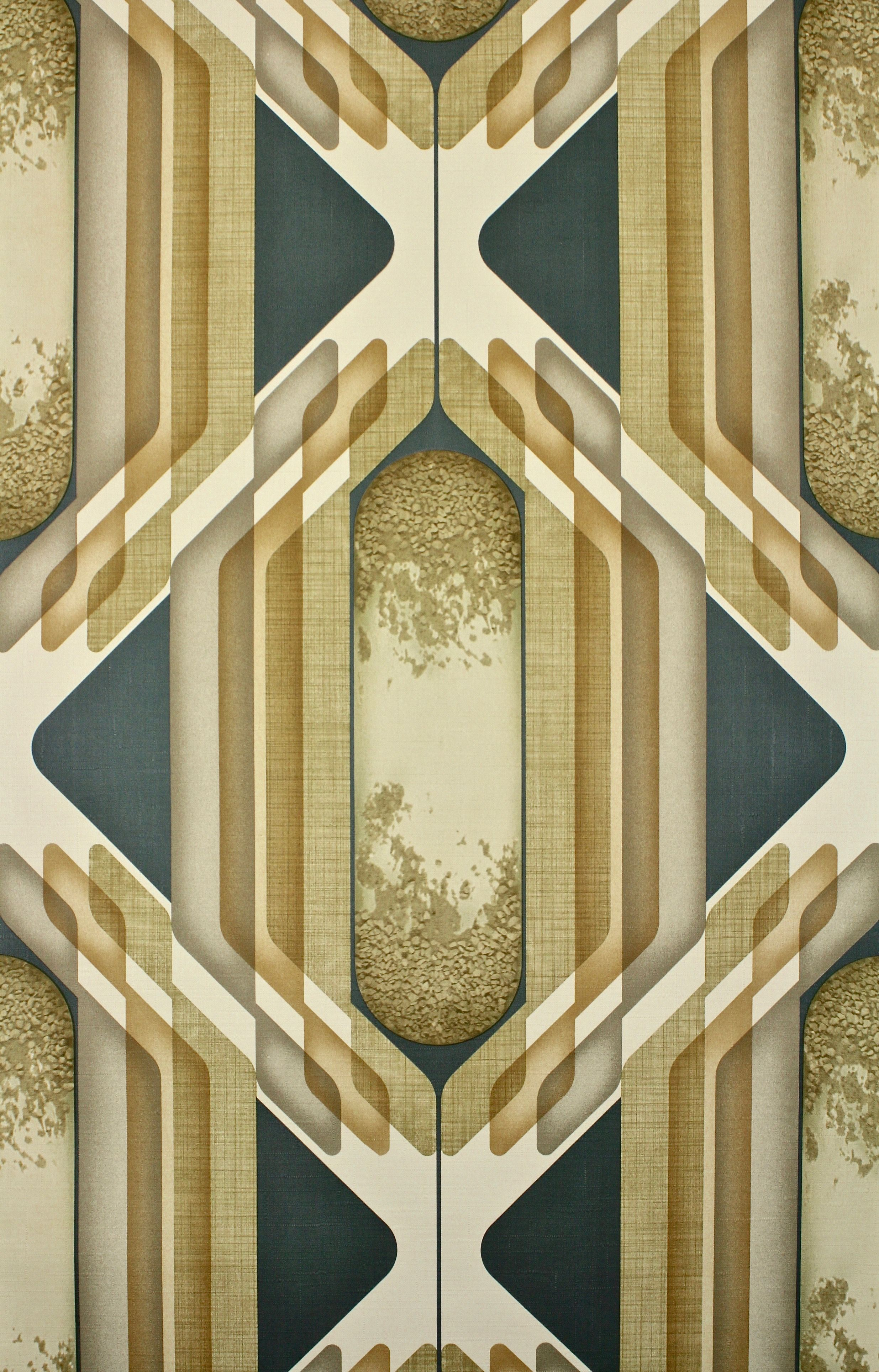 (Nederlands) Retro wallpapers, whether it are geometric