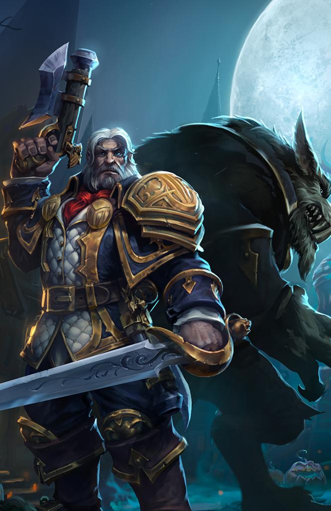 Hos Greymane Lord Of The Worgen World Of Warcraft