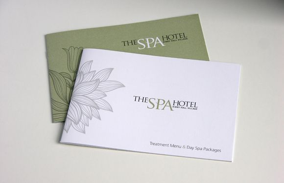 Spa Brochure Add Small Design Features To Make The Spa Brochure