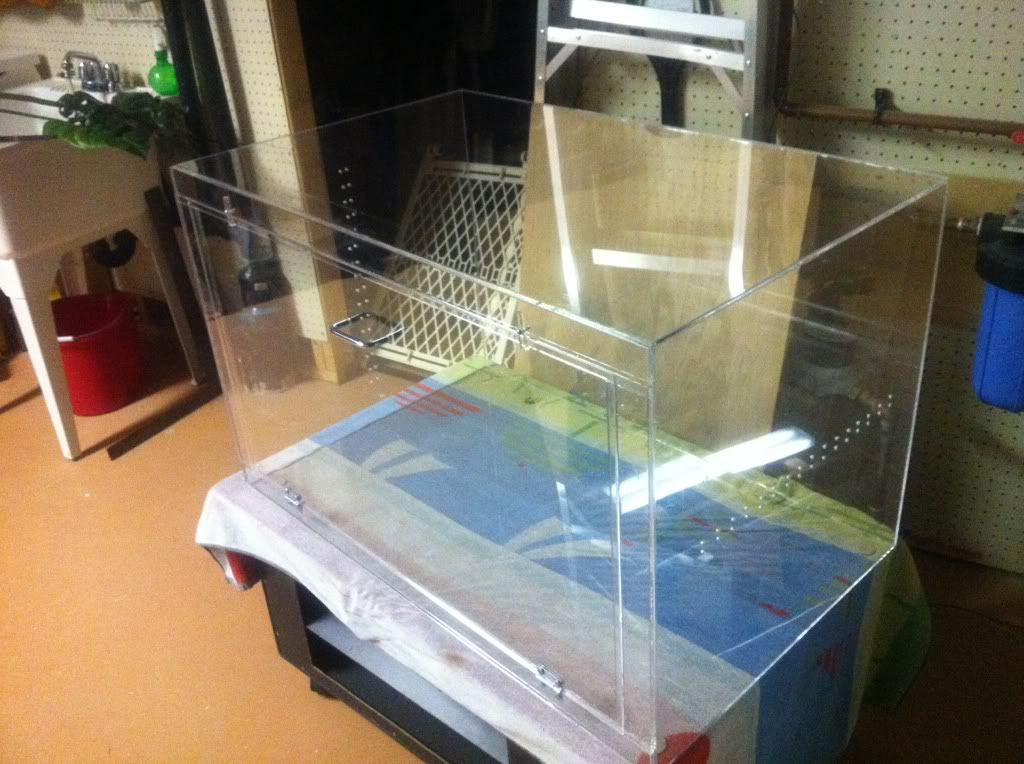 How To Build An Acrylic Enclosure - sSNAKESs : Reptile Forum