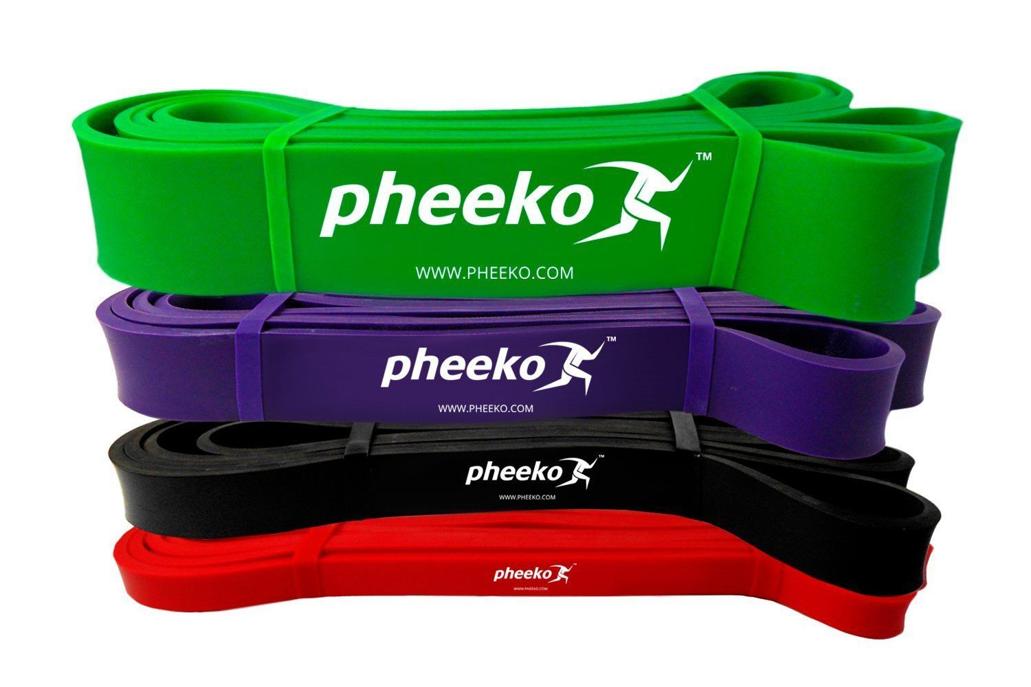 Pull Up Assist Bands Set or Single Band by Pheeko ...