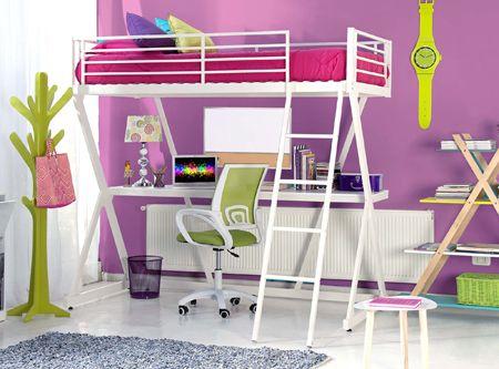 Camarote con escritorio easy wishlist pinterest dorm for Camarote con escritorio