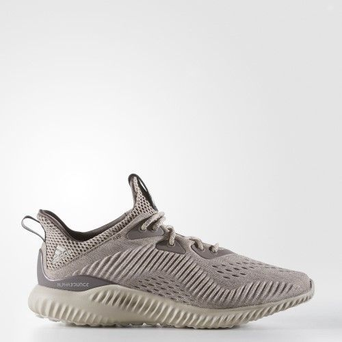 info for 40606 ea71f adidas alphabounce Engineered Mesh Shoes - Tech Earth  Clear Brown   Crystal White - Womens - 6