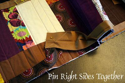Stitched in Color: Zigzag Binding Tutorial