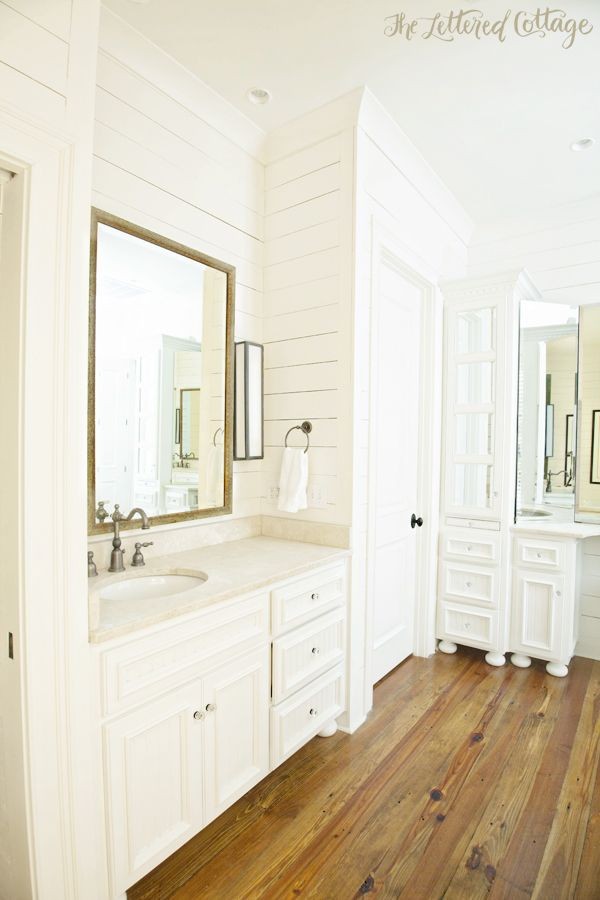 Kathy S Wood Walled Bathroom Wood Floor Bathroom White Wood Floors Amazing Bathrooms